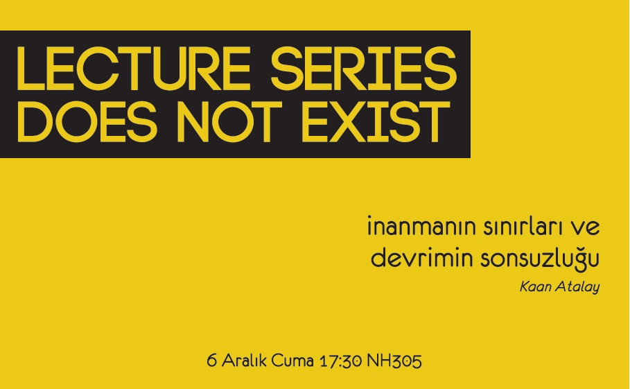 Lecture Series #1