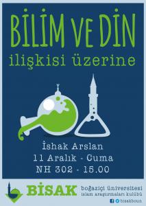 2015.12.11 İshak Arslan - Bilim ve Din ilişkisi üzerine