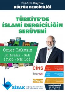 2015.12.15 İslami Dergiciliğin serüveni - Dünden Bugüne Kültür Dergiciliği Dergi Sergisi