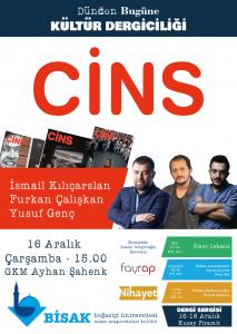 2015.12.16 Cins - Dünden Bugüne Kültür Dergiciliği Dergi Sergisi