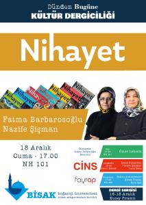 2015.12.18 Nihayet - Dünden Bugüne Kültür Dergiciliği Dergi Sergisi